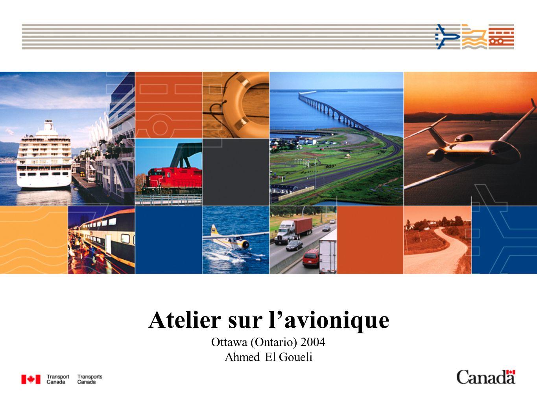 Atelier sur lavionique Ottawa (Ontario) 2004 Ahmed El Goueli