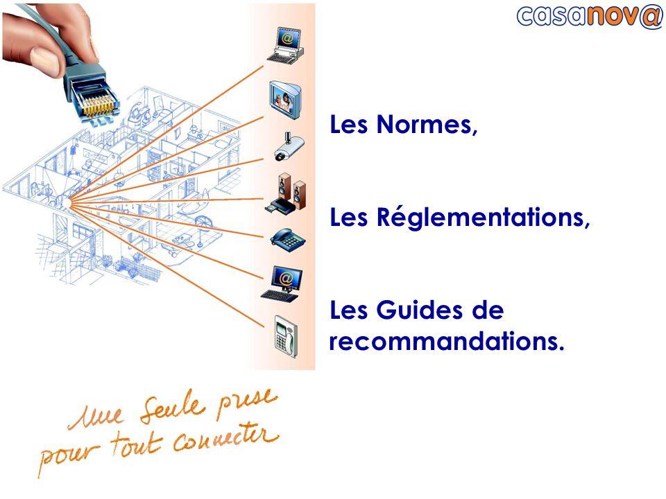 Normes & réglementations en vigueur… C 90 124 & C 90 125 Antennes individuelles ou collectives pour la r é ception de la radiodiffusion et r é seaux de distribution de t é l é vision.