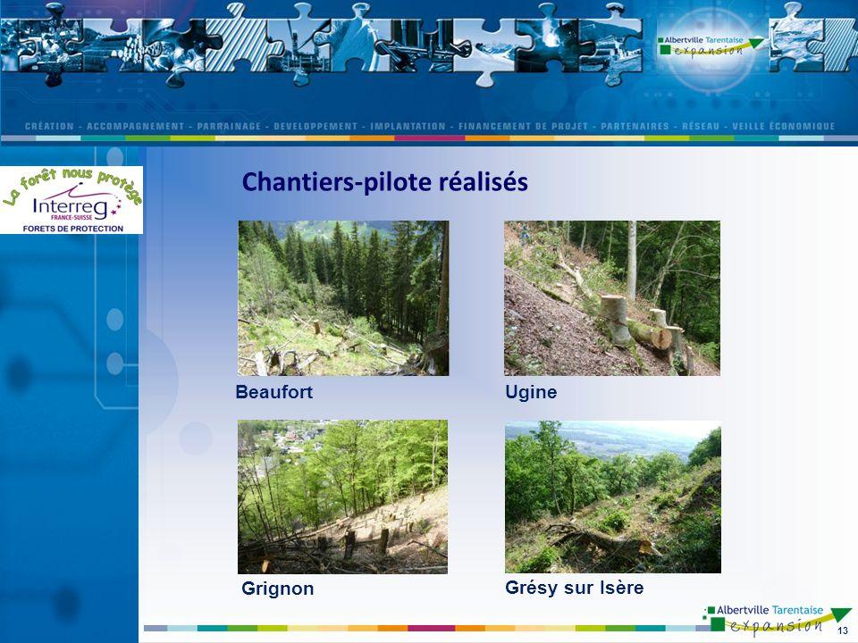 13 BeaufortUgine Grignon Grésy sur Isère Chantiers-pilote réalisés