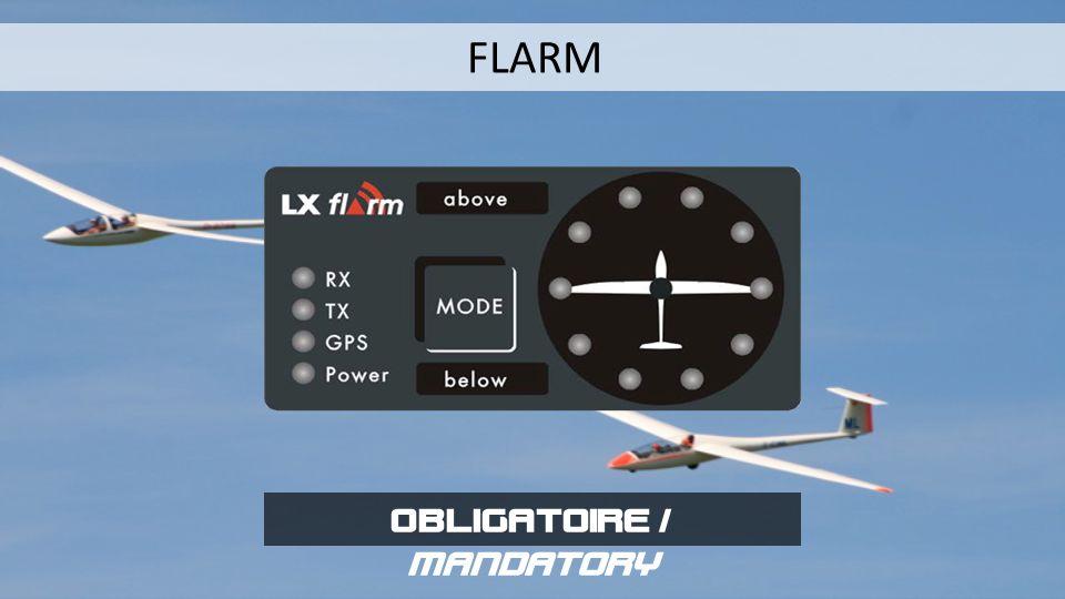 FLARM OBLIGATOIRE / MANDATORY