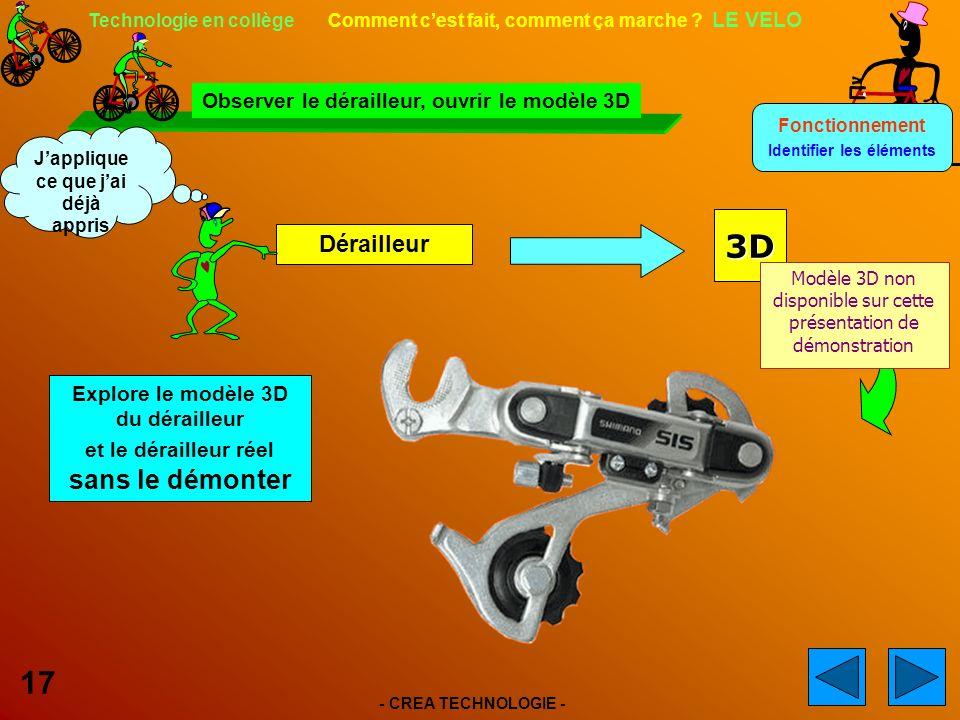 - CREA TECHNOLOGIE - 17 Technologie en collège Comment cest fait, comment ça marche .