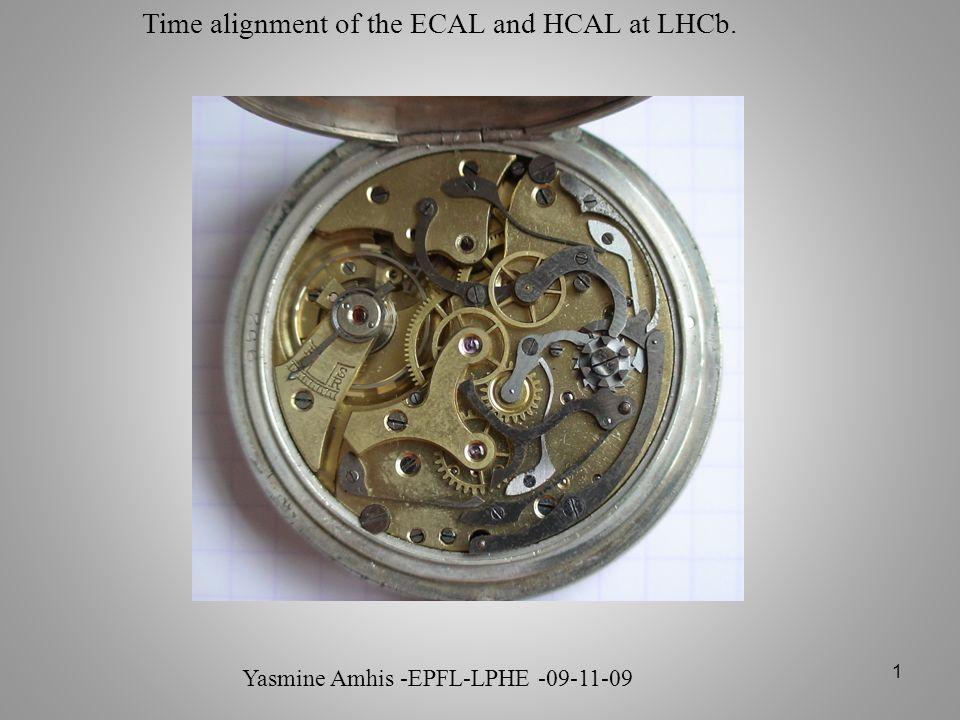 32 Étude de la corrélation des événements cosmiques entre le ECAL et HCAL.