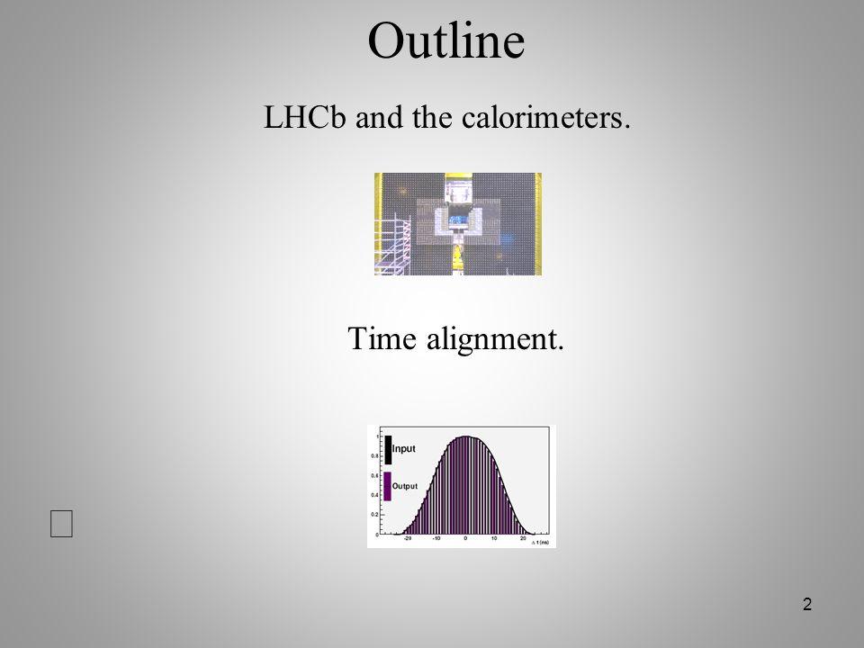 43 2 couches de scintillateurs espacées par 2.5 X 0 de plomb PS: séparation électron/pion.