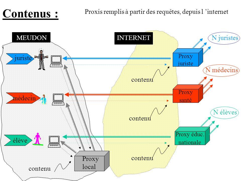 « Business model » un proxy thématique un proxy local forfait permanent peu cher 1/3 payant Diffusion, push