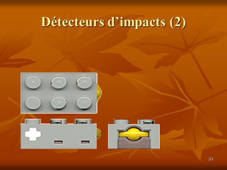 21 Détecteurs dimpacts (2)