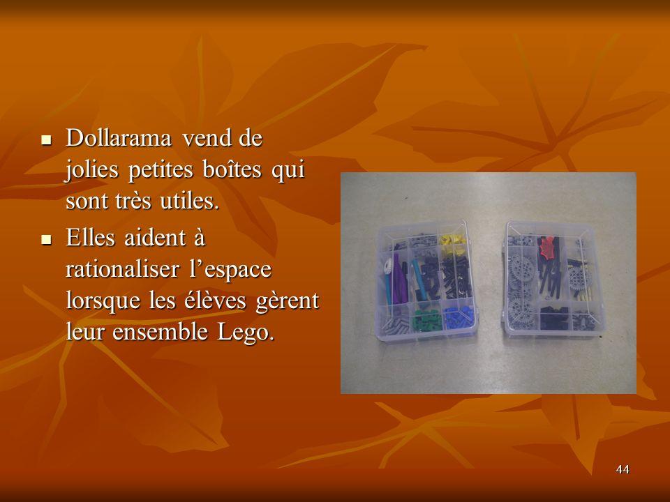 44 Dollarama vend de jolies petites boîtes qui sont très utiles. Dollarama vend de jolies petites boîtes qui sont très utiles. Elles aident à rational