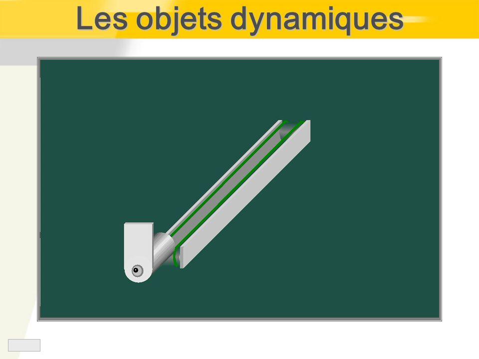 Les objets dynamiques