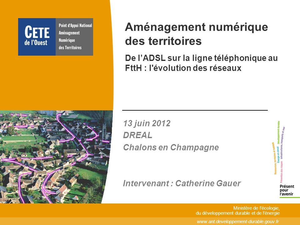 13 juin 2012 2 Agenda Lévolution des réseaux de communications électroniques Lévolution des réseaux de communications électroniques Les acteurs du marché du haut débit