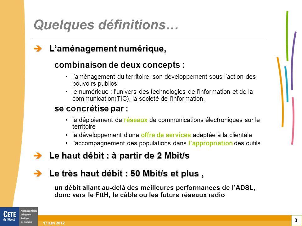 Comprendre l évolution des réseaux 14 Très haut débit fin 2011, les abonnés THD : en France, 640 000 dont 175 000 au FttH au Japon : 20 millions (>ADSL) enjeu : le très haut débit Innovation dans les usages rester en pointe dans la compétition mondiale Communes où des opérateurs ont annoncé commencer à déployer du FttH dans les 5 ans à venir