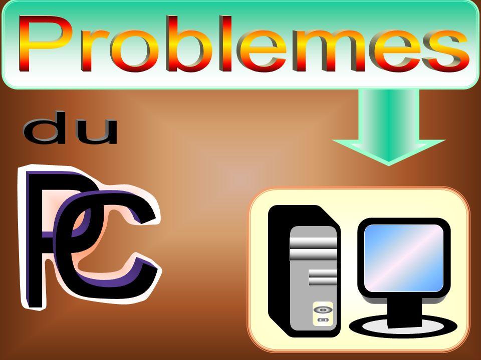 Mon PC ne sallume pas Marche à suivre 1)Vérifier le cordon dalimentation du PC.