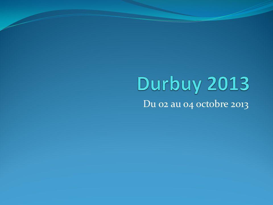 Du 02 au 04 octobre 2013