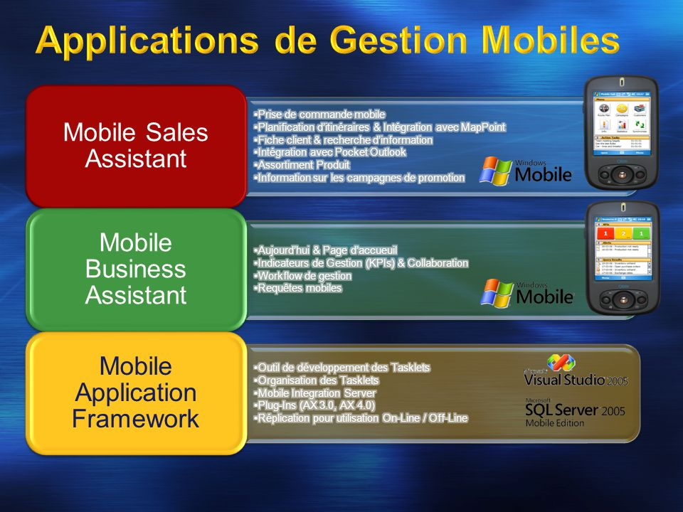 Mobile Sales Assistant Mobile Business Assistant Mobile Application Framework