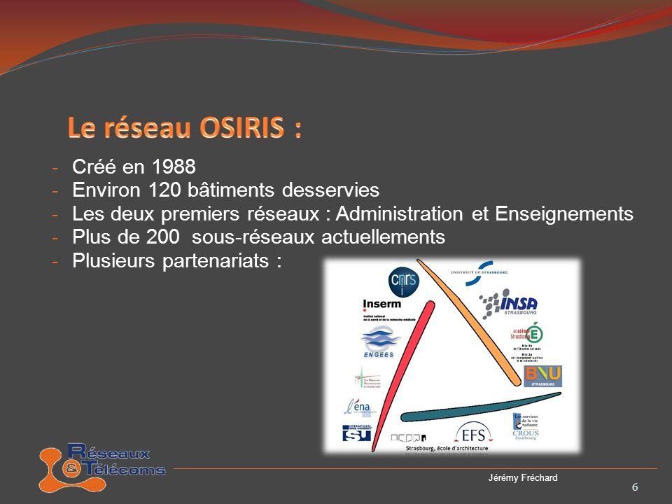 - Mise en place dun Schéma Directeur Numérique (SDN) en 2009 - Problèmes liés à la fusion des différentes universités - Remise à neuf des infrastructures réseaux - Quatre grosses phases 7 Jérémy Fréchard
