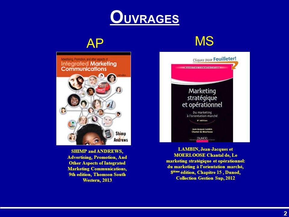 103 Fig. 32 PARTIE 2 : Effets de la publicité sur la fonction de demande