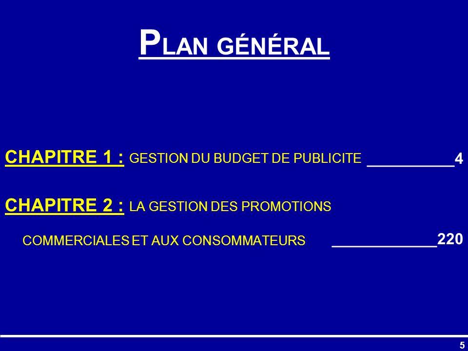 196 Plan Médias Plan médias (répartition du budget entre médias) Tab.