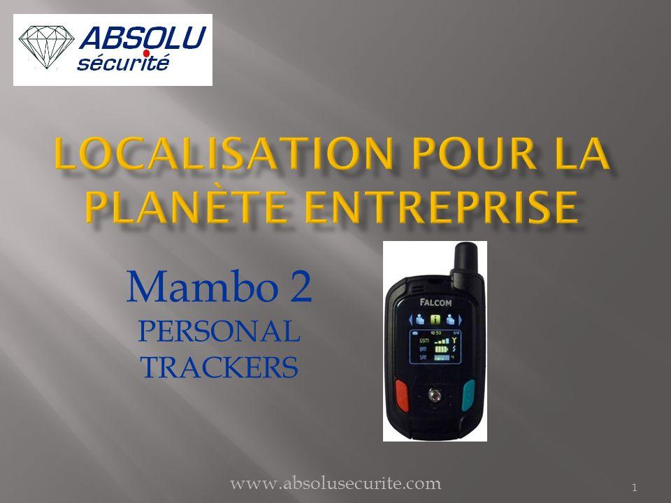 www.absolusecurite.com 12 Niveau Batterie Statut Connexion serveur Niveau GSM Statut GPS Connecté au serveurDéconnecté du serveur GPS valideGPS invalide