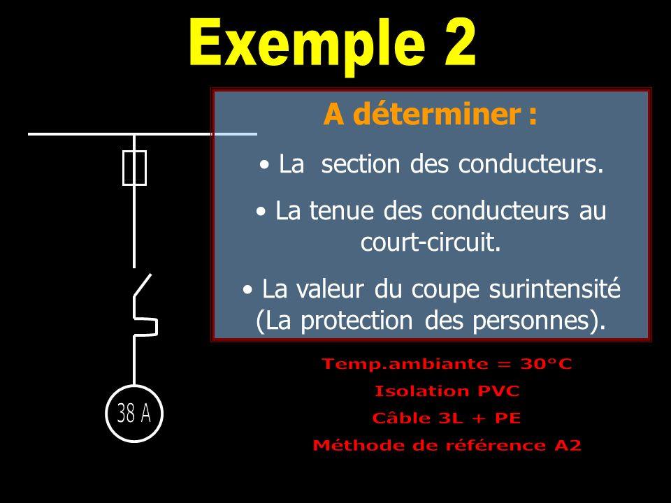 Protection des personnes = fusion du fusible appareils fixes 5s appareils mobiles ( dispositifs conjoncteurs ) 0,4s