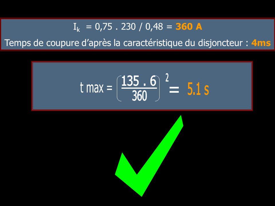 Facteur de correction pour groupement : 1 Facteur de correction pour température : 0.82 Il = 32/0,82 =39A Méthode de référence : A Nombre de conducteu