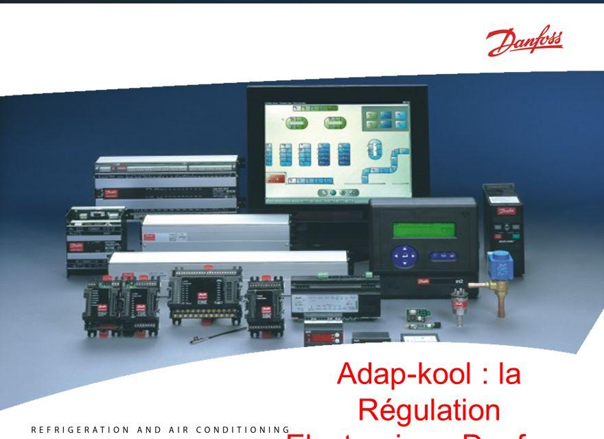 R E F R I G E R A T I O N A N D A I R C O N D I T I O N I N G F O O D R E T A I L ADAP-KOOL ® Système de Régulation pour la Réfrigération Régulation de centrale Sd Po Pc Ss AKD AKC25H1, H3, H5, AKC22H EKC 331 EKC 531D1 AK2- PC311