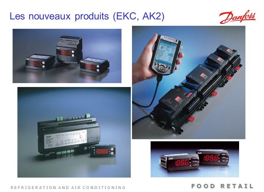 R E F R I G E R A T I O N A N D A I R C O N D I T I O N I N G F O O D R E T A I L Plages capacité AKV 5 10 15 20 1234567 Capacité R22 en kW No.