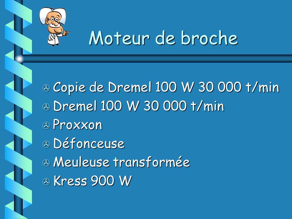 > Copie de Dremel 100 W 30 000 t/min > Dremel 100 W 30 000 t/min > Proxxon > Défonceuse > Meuleuse transformée > Kress 900 W