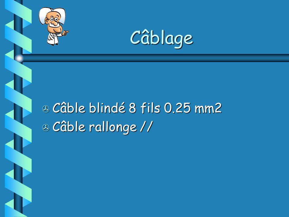 Câblage > Câble blindé 8 fils 0.25 mm2 > Câble rallonge //