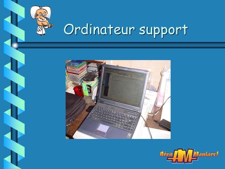 Ordinateur support