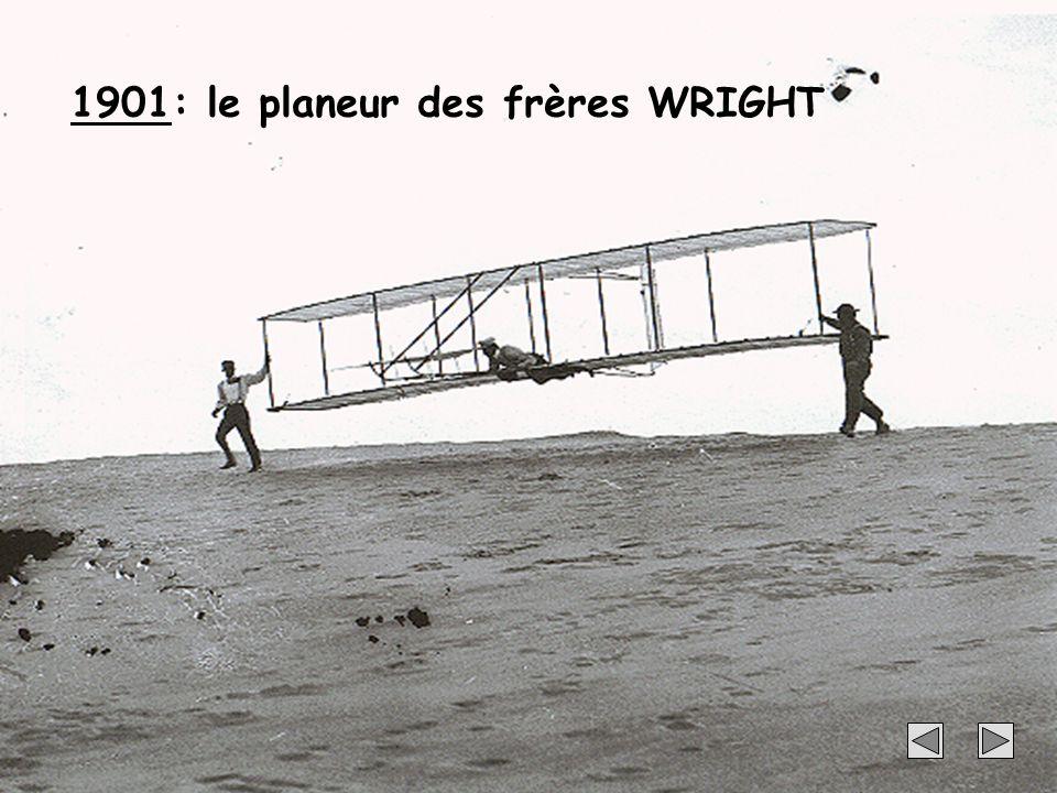 17 1901: le planeur des frères WRIGHT