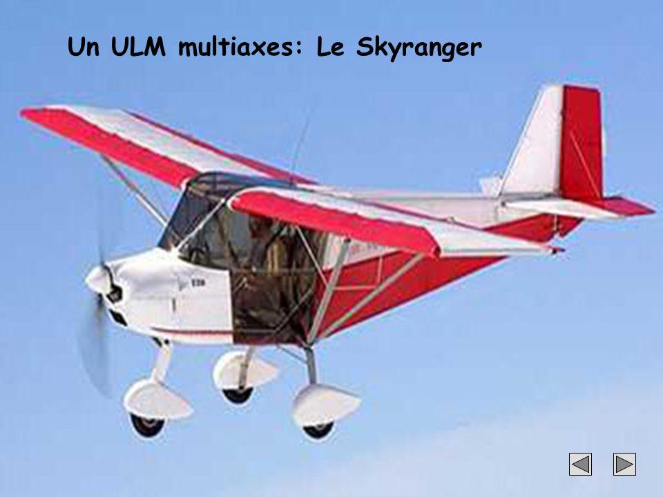 26 Un ULM multiaxes: Le Skyranger