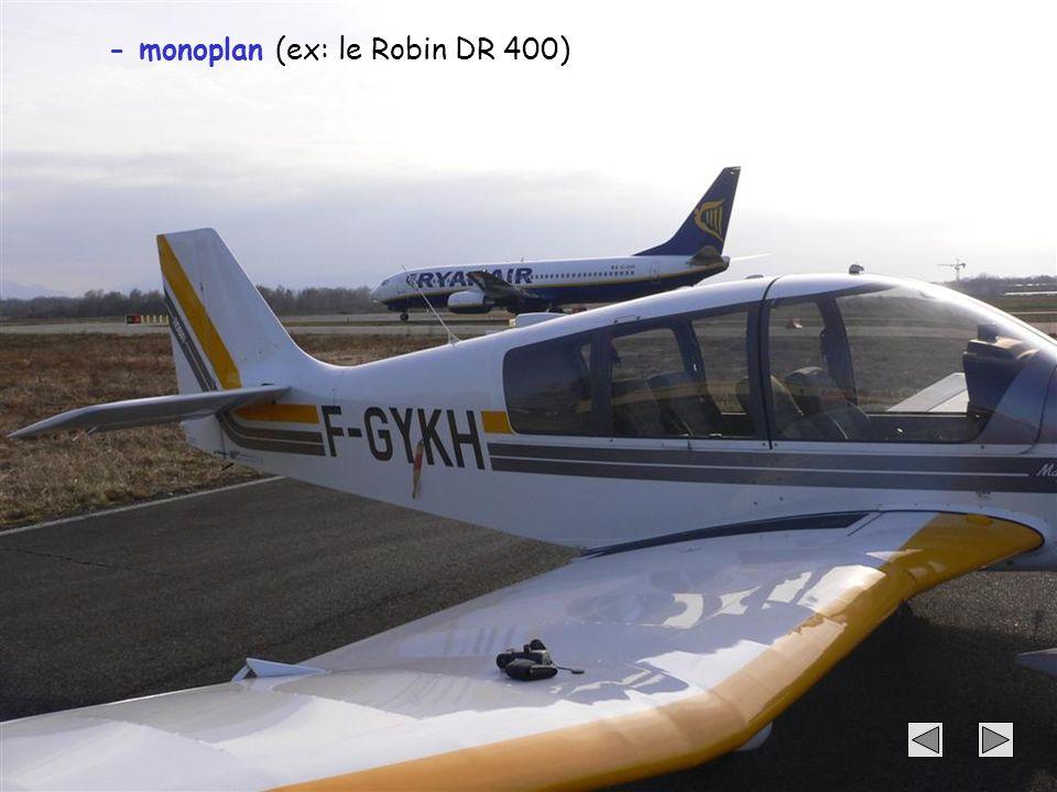 52 - monoplan (ex: le Robin DR 400)