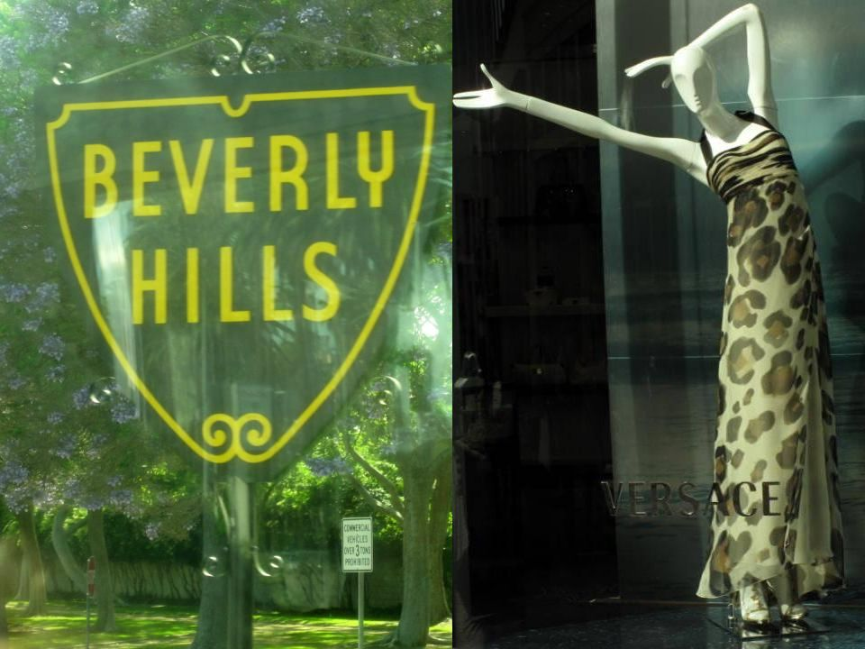 Le Walk of Fame sur Hollywood Boulevard