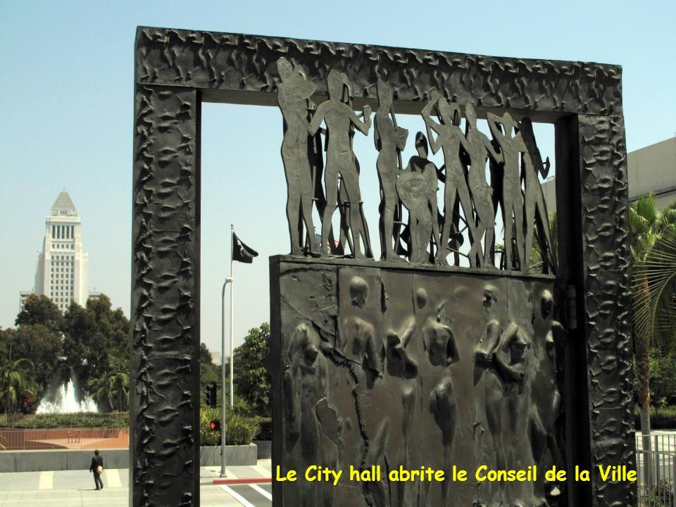 Le City hall abrite le Conseil de la Ville