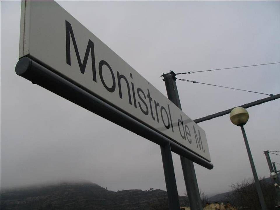 MONTSERRAT: est situé à une altitude de 725 mètre dans la municipalité de Monistrol de Montserrat dans le massif de Monserrat à 60 kil de Barcelone. i