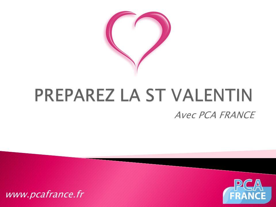 Avec PCA FRANCE www.pcafrance.fr