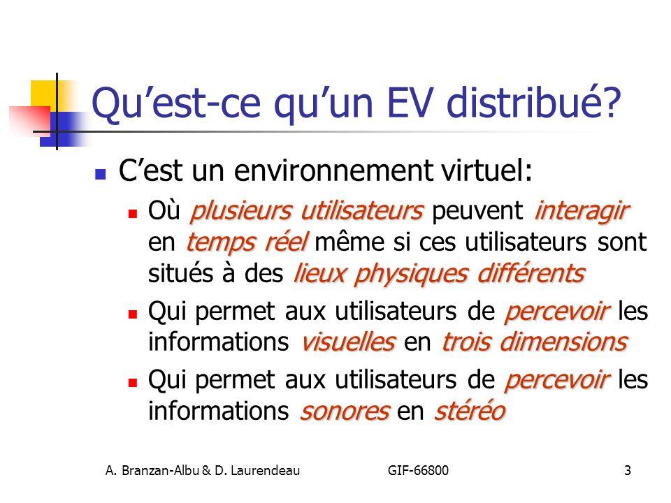 A. Branzan-Albu & D. Laurendeau GIF-66800 84 Dépôts centraux (3)