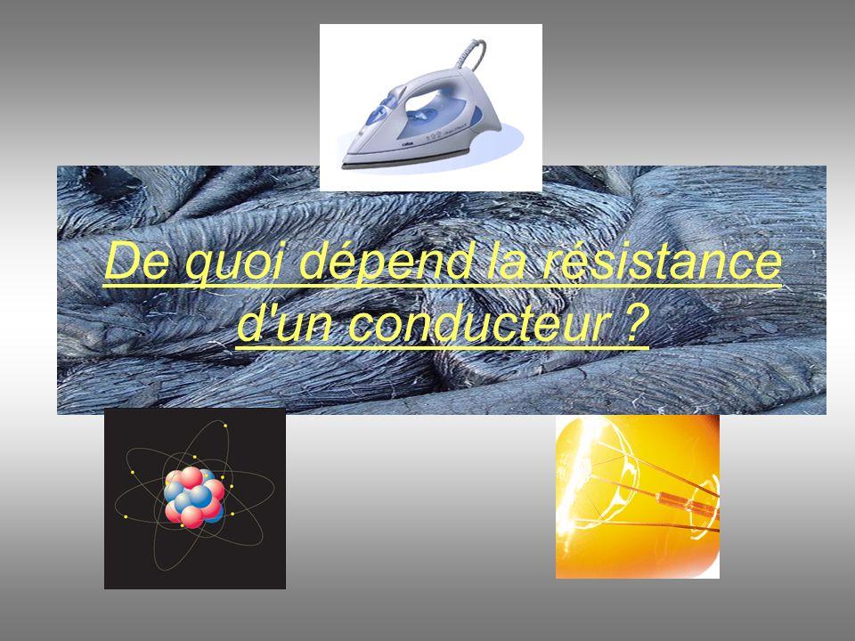 9.On désire construire une résistance en fer de 5 Ω.