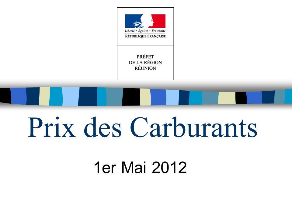 Prix des Carburants 1er Mai 2012