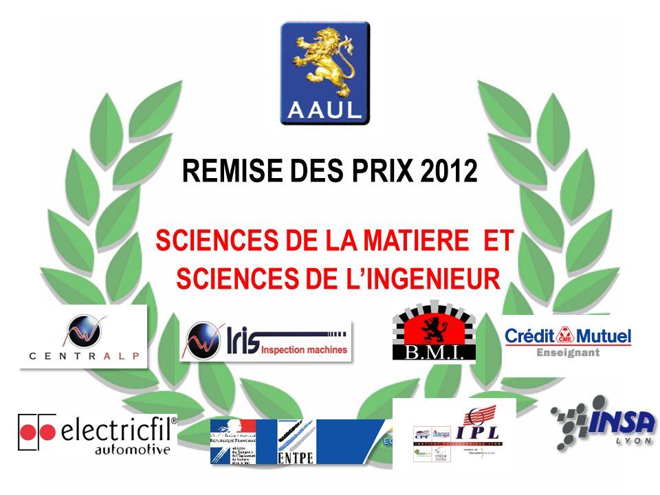 Ce prix récompense un étudiant dE.S.C.P.E ayant obtenu, en 2011, un master 2 ou présenté un projet de fin détudes dans le domaine du développement durable.