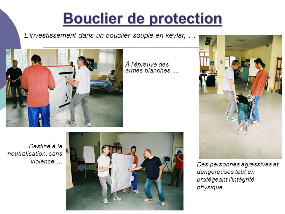 L investissement dans un bouclier souple en kevlar, … Bouclier de protection Des personnes agressives et dangereuses tout en protégeant l intégrité physique.