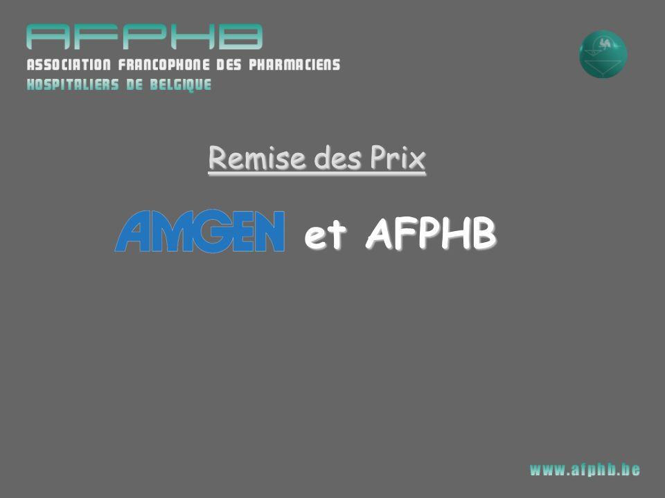 Remise des Prix Remise des Prix et AFPHB