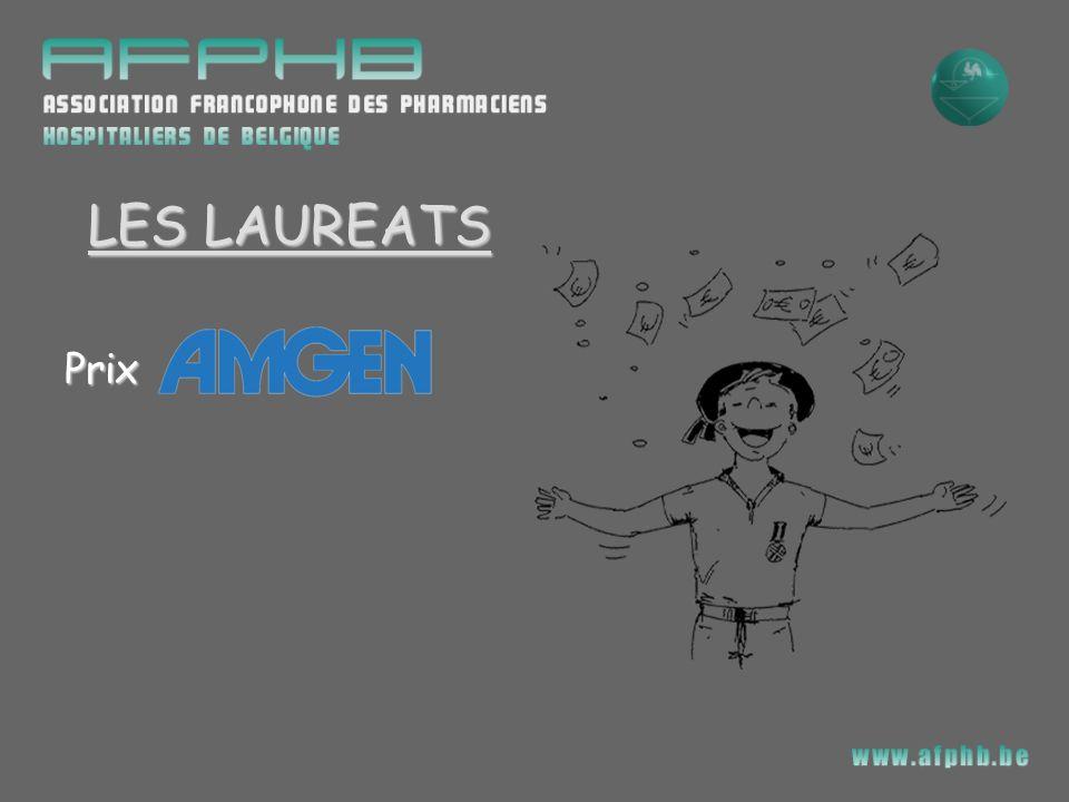 LES LAUREATS Prix