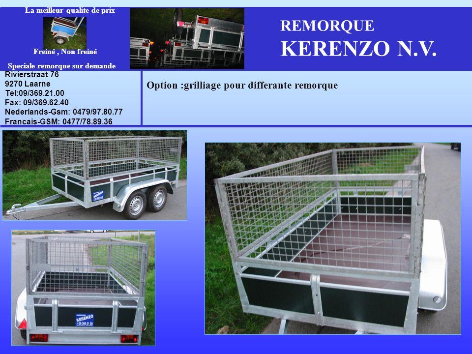 REMORQUE KERENZO N.V.