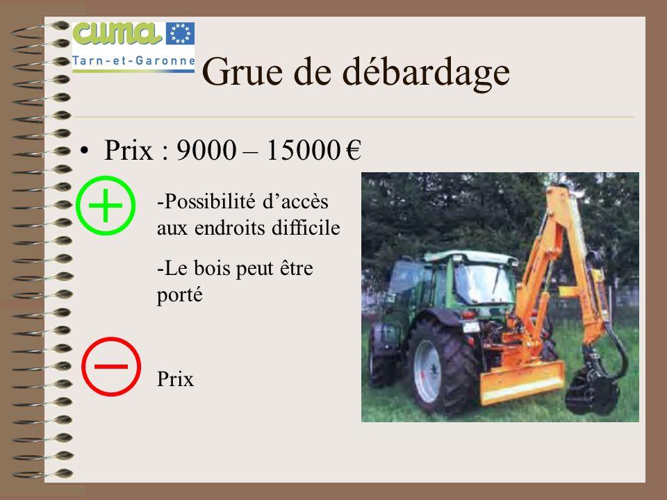 Remorque de débardage Prix : 12000 – 25000 -Manutention et chargement facilité -Transport en toutes sécurité Prix Accessibilité aux endroits difficile