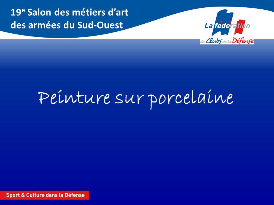 19 e Salon des métiers dart des armées du Sud-Ouest Mention N° 122 « Peit cochon » Martine PEYRARD CSA 17 Garnison Montauban