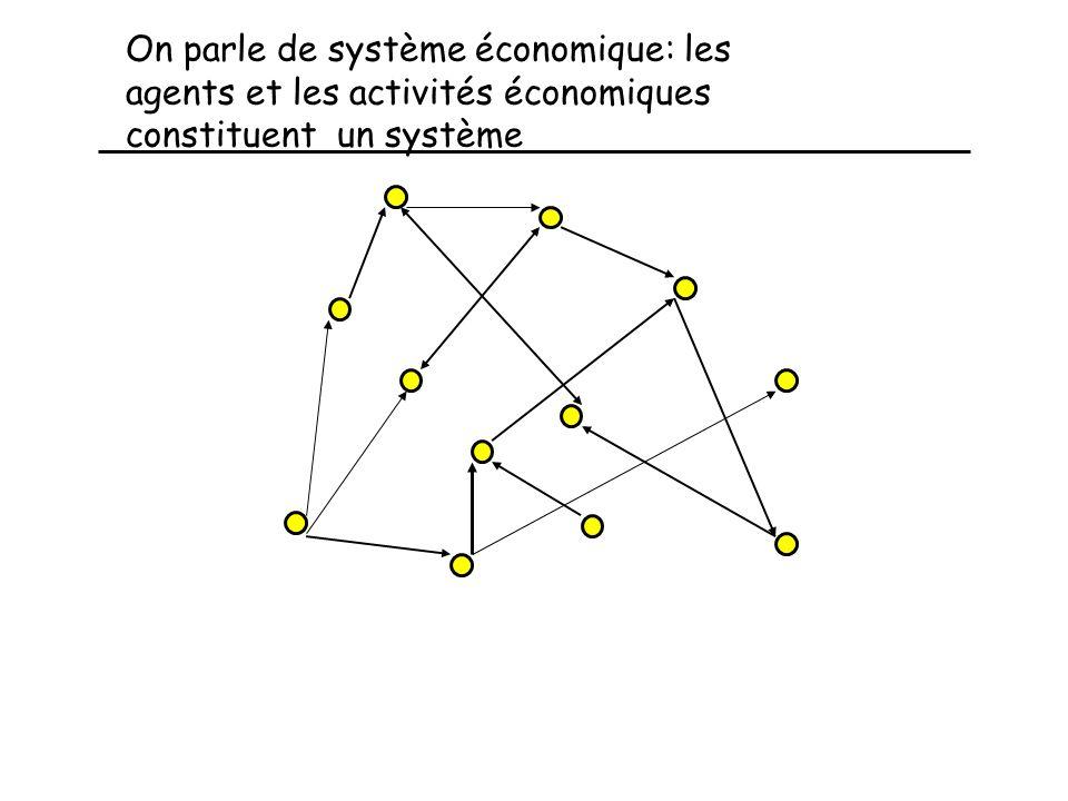 SSéance 4 et 5 Les intéractions au sein du système il s agit maintenant d expliquer, de prévoir Les interactions au sein du système économique en font