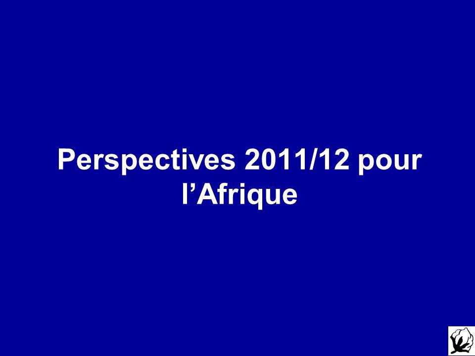 Perspectives 2011/12 pour lAfrique