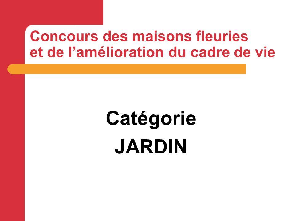 Catégorie Jardin à surface limitée : 2 ème prix Mr CHAUVEAU Maurice