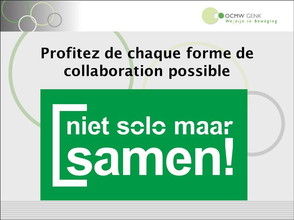 Profitez de chaque forme de collaboration possible