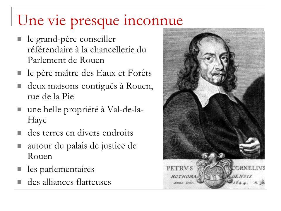 Une vie presque inconnue le grand-père conseiller référendaire à la chancellerie du Parlement de Rouen le père maître des Eaux et Forêts deux maisons