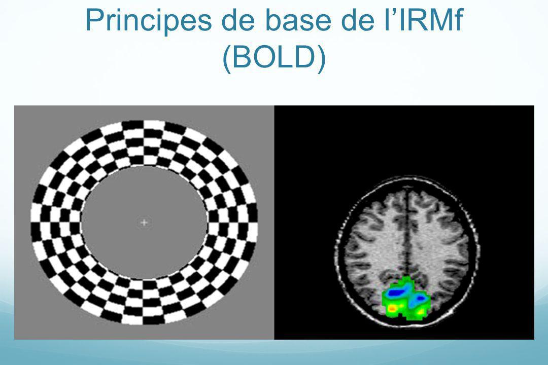 Principes de base de lIRMf (BOLD)